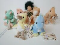 Lot of 7 Precious Moments Tender Tails Dino-Mites Series with Tag