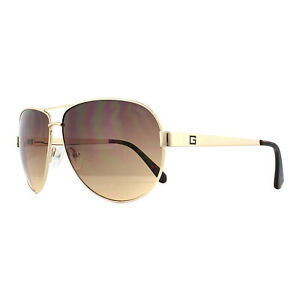 Guess Sunglasses GU6875 32F Gold Brown Gradient