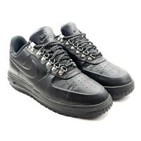 Nike Lunar Force 1 Duckboot Mens Black Waterproof Shoes Sneakers AA1125-001 Sz 9