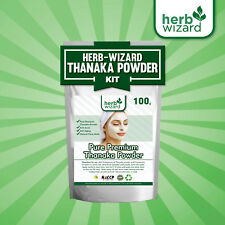100g Pure Thanaka Tanaka Powder Natural Anti Acne Aging Whitening Hair Removal