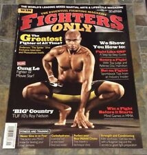 11/09 FIGHTERS ONLY MAGAZINE - ANDERSON SILVA etc - UFC - MMA US Edition