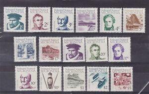 micronesia 1964 Sc 5/20,set MNH    $11        q795