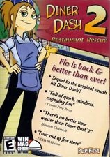 Diner Dash 2 Restaurant Rescue (PC/MAC Game) FREE US SHIPPING