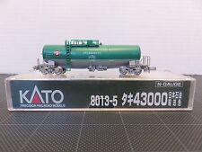KATO 8013-5 Series 43000 Japanese TANK CAR Model Train N-Scale Green/Grey T165