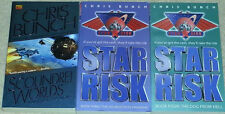 Chris Bunch STAR RISK Dog From Hell & Scoundrel Worlds & Doublecross Program