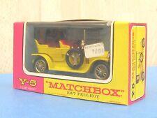 Matchbox Y-5 1907 Peugeot