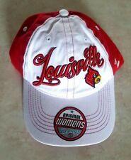 Louisville Cardinals Womens Hat Stitched Logo Adjustable Strap Cap Zephyr Cotton
