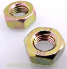 2 PK ECHO LEFT HAND BLADE ADAPTER NUTS SRM, PE ,90051100010, M10 X 1.25 1855E