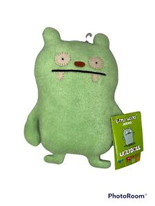 """Little Uglys """"JEERO"""" Green 7"""" Original UGLYDOLL! Must Have! RETIRED! Great Gift!"""