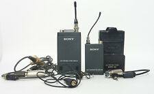 Sony Portable WRT-28 & WRR-28 UHF Wireless Microphone System