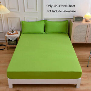 Cozy Mattress Cover Fitted Bed Sheet Quilt Cover Dust Cover Fitted Sheet