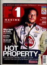 F1 RACING MAGAZINE September 2000 Jacques Villeneuve Hakkinen De La Rosa