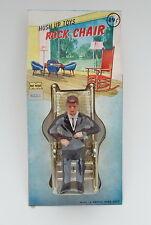 John F Kennedy Rocking Chair Plastic Figure 1960s Hush Up Toys Mego