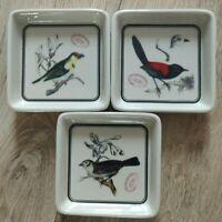 Rare céramique bird British Museum Natural History  décor oiseau