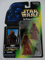 1996 Star Wars POTF Jawas with Glowing Eyes and Blaster Pistols Action Figure