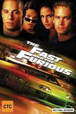 The Fast And The Furious (Collectors Edition, DVD, 2002) Region 4, Used