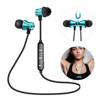Wireless Earphone Bluetooth Sport Headphone Magnetic Headset For iPhone Xiaomi