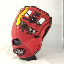 "Louisville Slugger Air 12"" Red/Gold Right-HandedThrower Infielder Baseball Glove"