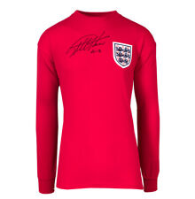 More details for sir geoff hurst signed england 1966 world cup shirt -