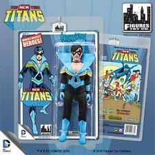 THE NEW TEEN TITANS NIGHTWING 8 INCH ACTION FIGURE MOSC NEW