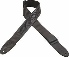 Levy's - MSS7GPE-006 - Garment Leather Guitar Strap - Black