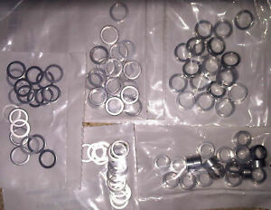 Chainring Bolt Spacer Washer FIXED track SINGLEPSEED (sold in singles)