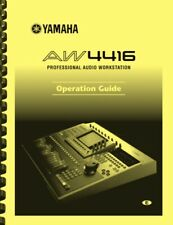 Yamaha AW4416 Audio Workstation OPERATION GUIDE and SUPPLEMENT MANUAL