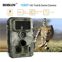 BOBLOV CT009 1080p 30fps 16MP Trail Wildlife Camera Diginal Animal 120°PIR IP66