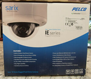 Pelco IEE20DN8-1 Sarix 2.1MP Outdoor D/N Rugged Dome IP Camera 2.8-8mm Lens