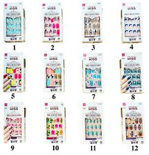 KISS Nails The Collection 24 Glue-On Nails Medium Length #62270