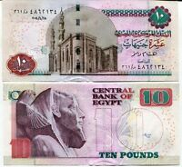 EGYPT 10 POUNDS 2014 P 64 UNC