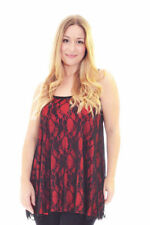 Floral Plus Size Sleeveless Tops for Women