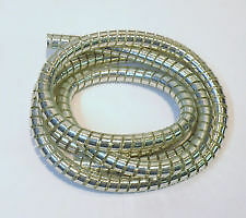 Harley,New chrome cable wrap,3/16 for throttle & wires