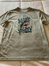 New Boy's Youth Size XL X-Large 16 / 18 Under Armour Athletic Shirt T-Shirt Top