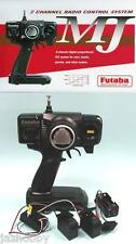 Futaba 2PHKA MJ RC Car 2ch Am Radio Control System Transmitter Receiver Servo X2