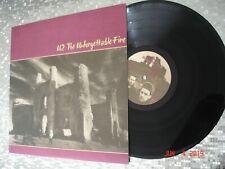 "U2 – ""The Unforgettable Fire""  LP    Island Records – 90231-1"