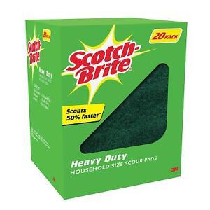 Scotch Brite Heavy Duty Scour Pads (20ct.)Free Shipping