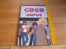 CBGB OMFUG TPB comic 1st print Jaime Hernandez GN Boom Town