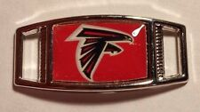 Lot Of 2 ATLANTA FALCONS Shoelace Charms For Paracord Projects NFL Football