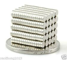 200pcs 3 X 1 mm Neodymium Disc Super Strong Rare Earth N35 Small Fridge Magnets