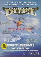 Fighter Duel Game Philips 1995 Magazine Advert #1311