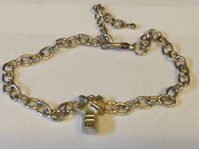Windmill TG310 Fine English Pewter on a Anklet / Bracelet