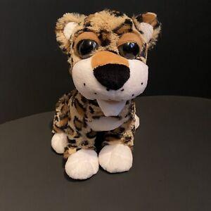 """Dan Dee Collectors Choice Medium Plush Stuffed Leopard Jaguar Cheetah 2010 9"""""""