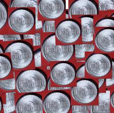 2008 D Jefferson Nickel Satin Mint Strike Roll 40 ea. in Mint Wrap from Mint Set
