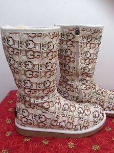 UGG AUSTRALIA Women's Monogram winter boots/ RARE/ Sz. 7