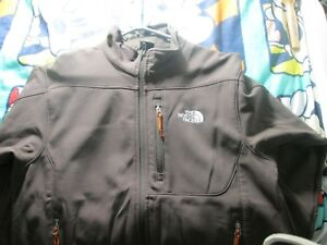 The North Face Men's full zip Jacket Coat Size M Medium Soft Shell Summit Series
