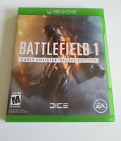 Microsoft XBOX One Battlefield 1: Early Enlister Deluxe Edition Video Game 2016