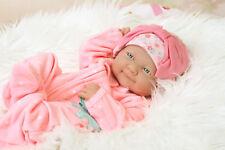 ~NEW~Preemie Berenguer Newborn Baby Girl Doll Vinyl Silicon Handmade Happy Face