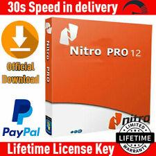 Nitro Pro 12 PDF ✔️ Viewer, Creator, Editor⚡ Genuine License Key 💯 FULL VERSION