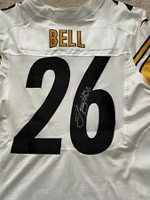 LeVeon Bell Signed Authentic Pittsburgh Steelers Football Jersey